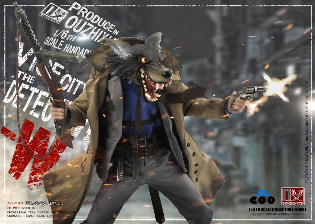 DetectiveW - NEW PRODUCT: COOMODEL X Even: 1/6 Vice City - Detective W [Standard Edition & Collector's Edition] - Four-headed configuration 20263011