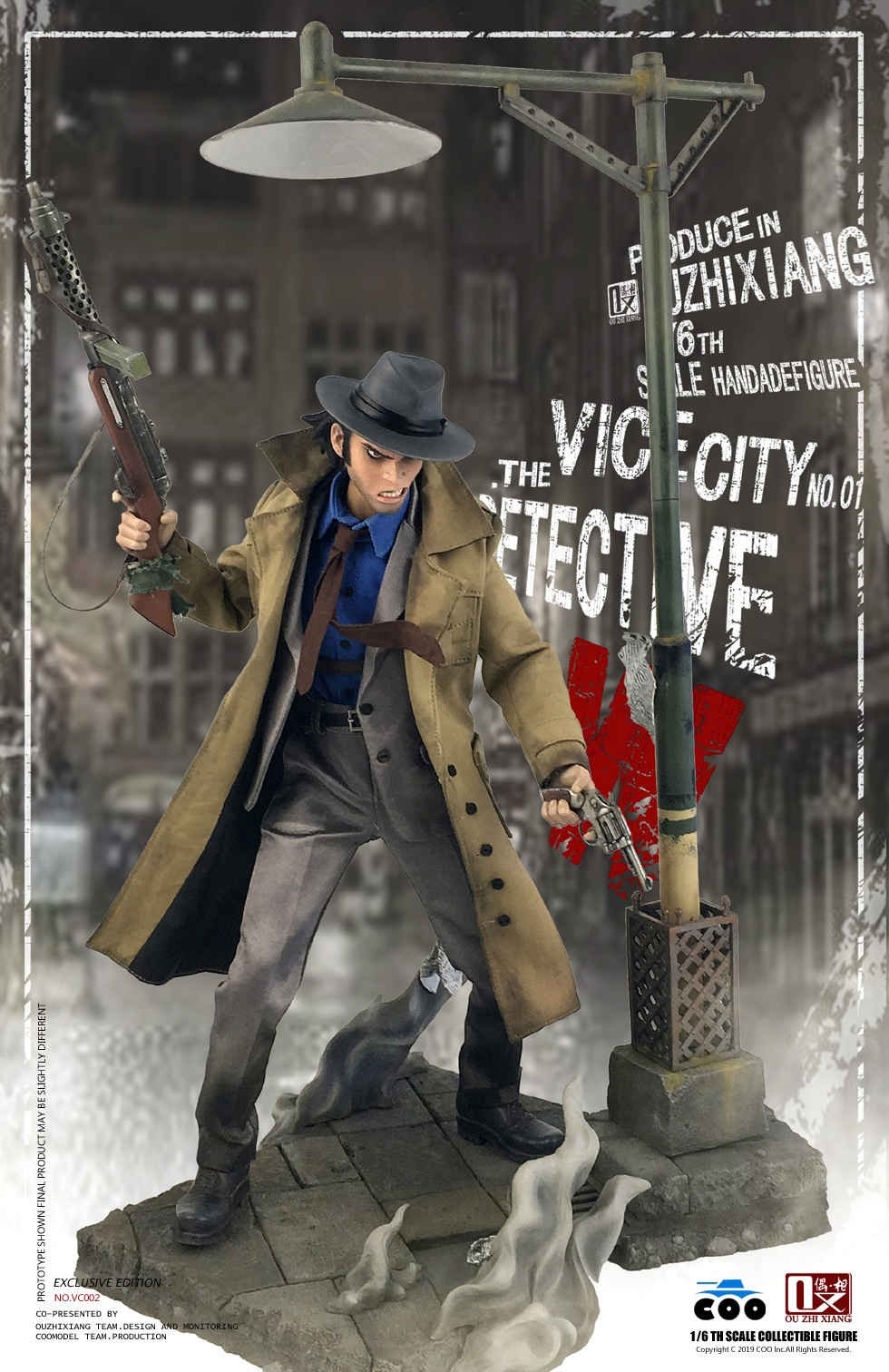 DetectiveW - NEW PRODUCT: COOMODEL X Even: 1/6 Vice City - Detective W [Standard Edition & Collector's Edition] - Four-headed configuration 20282410