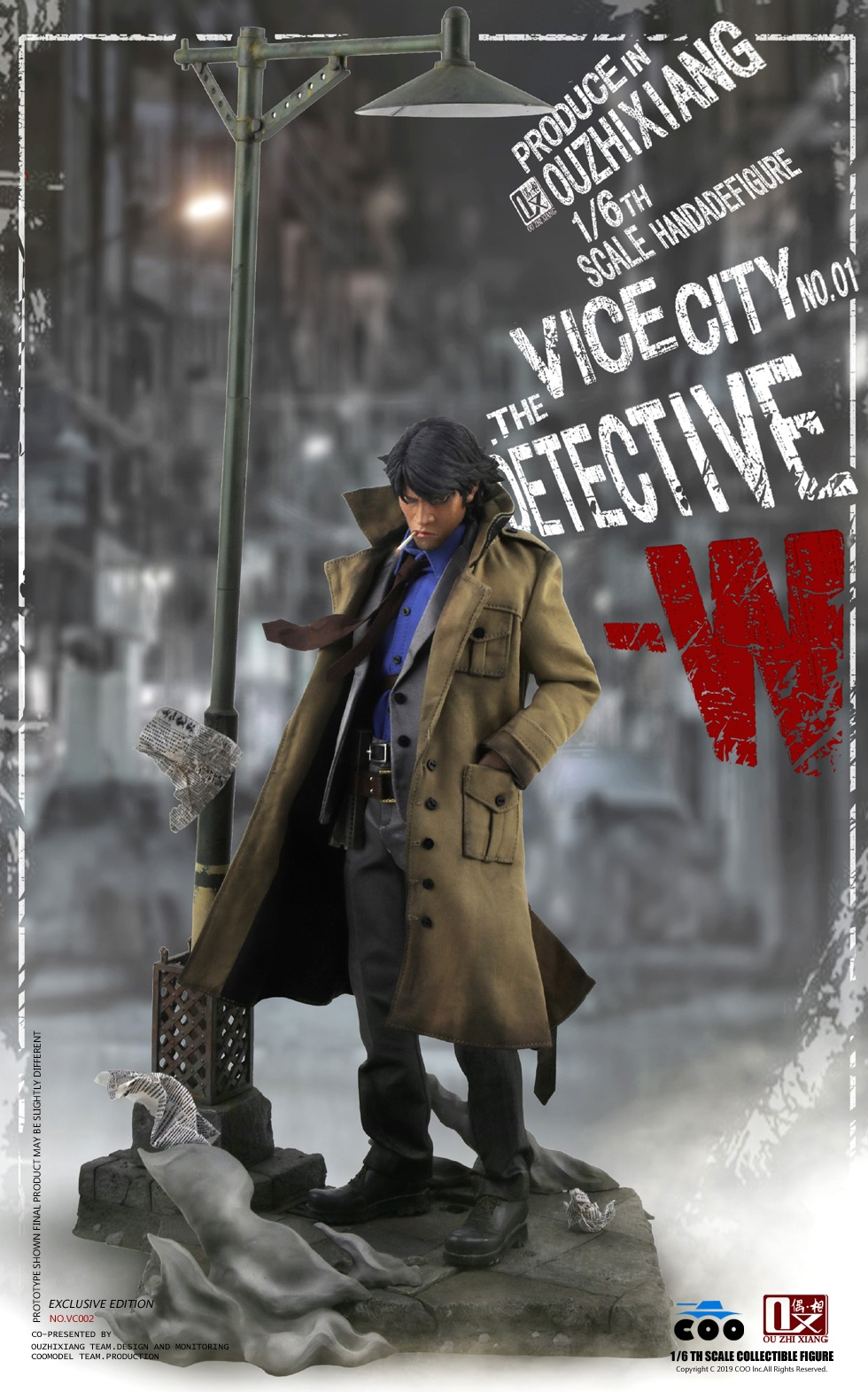 DetectiveW - NEW PRODUCT: COOMODEL X Even: 1/6 Vice City - Detective W [Standard Edition & Collector's Edition] - Four-headed configuration 20282611