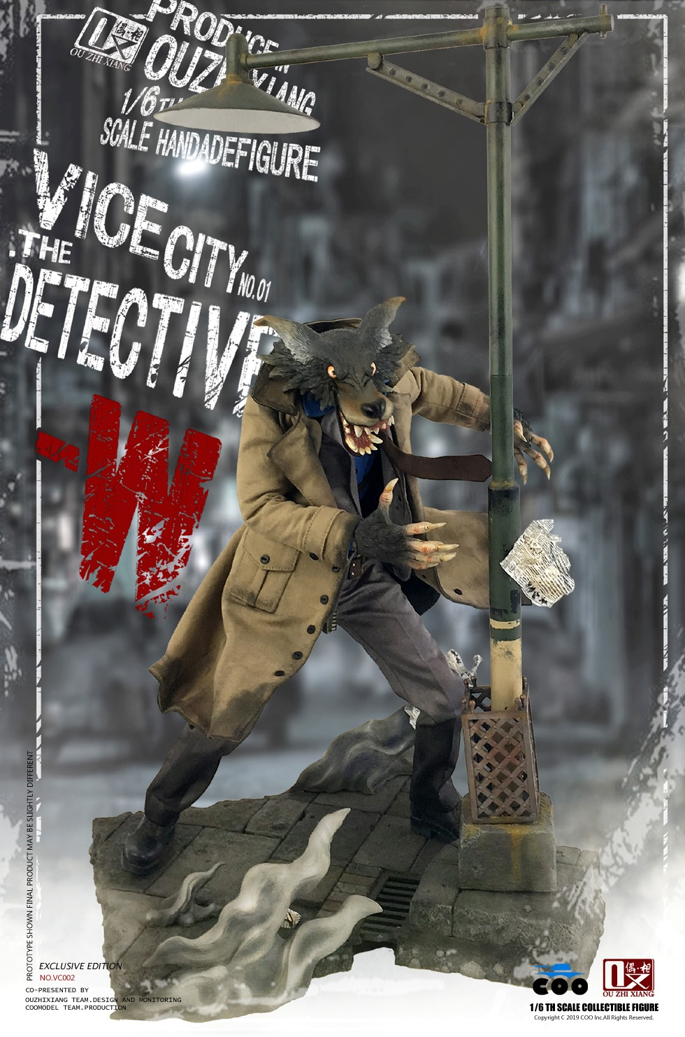 DetectiveW - NEW PRODUCT: COOMODEL X Even: 1/6 Vice City - Detective W [Standard Edition & Collector's Edition] - Four-headed configuration 20282712