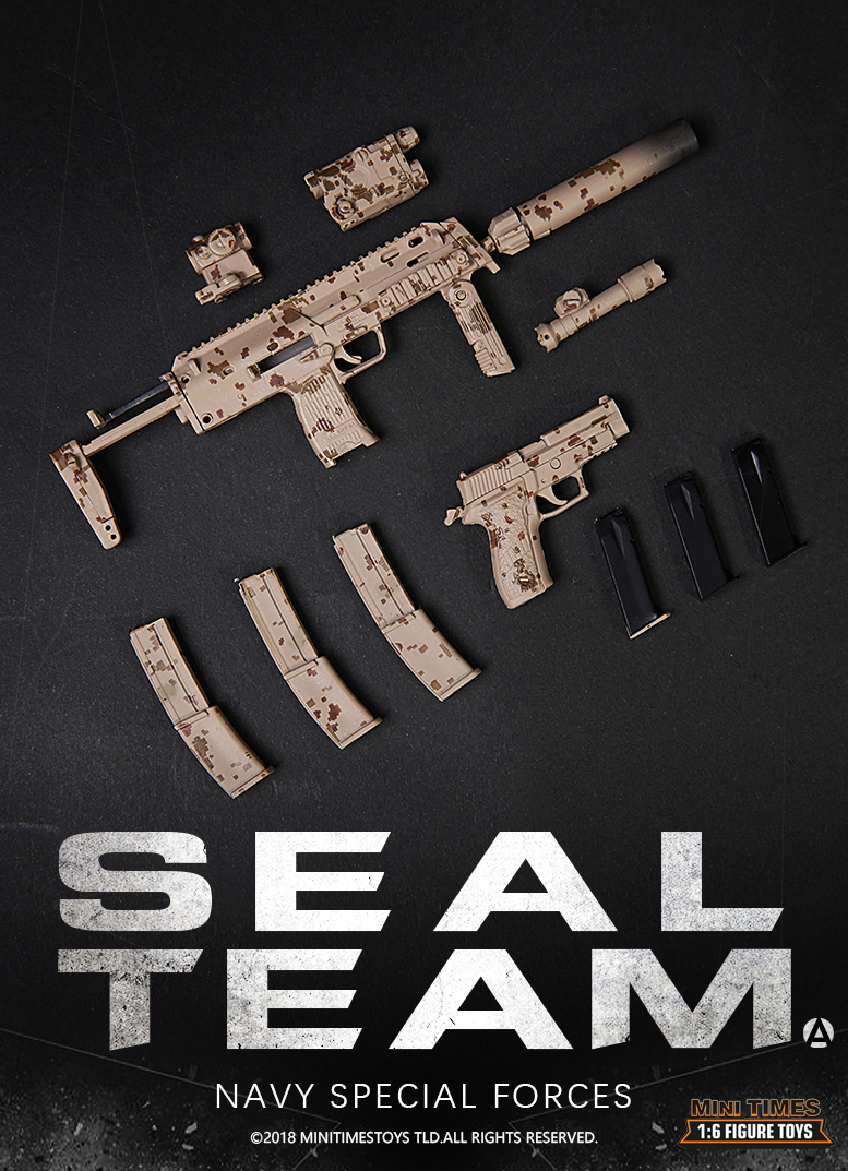NEW PRODUCT: MINI TIMES TOYS US NAVY SEAL TEAM SPECIAL FORCES 1/6 SCALE ACTION FIGURE MT-M012 2029