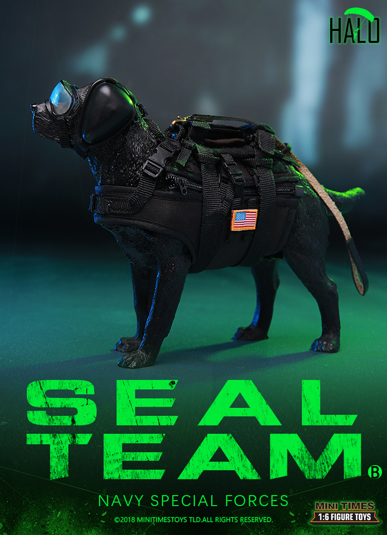 "Dog - NEW PRODUCT: MINI TIMES TOYS US NAVY SEAL TEAM SPECIAL FORCES ""HALO"" 1/6 SCALE ACTION FIGURE MT-M013 2030"