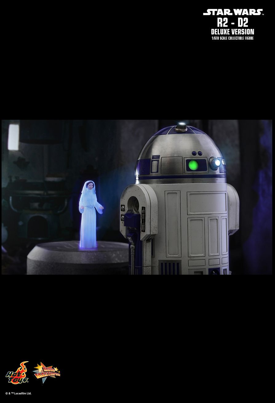 NEW PRODUCT: HOT TOYS: STAR WARS R2-D2 DELUXE VERSION 1/6TH SCALE COLLECTIBLE FIGURE 2031