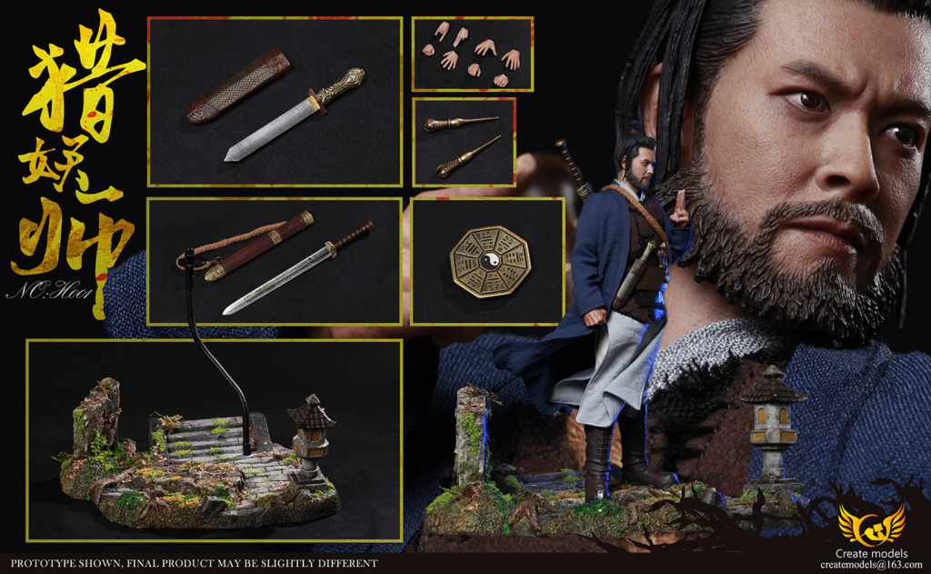 NEW PRODUCT: Create models New: 1/6 - Hunting Monster Doll Scene Set (#H001) & Platform (#D001) 20354010