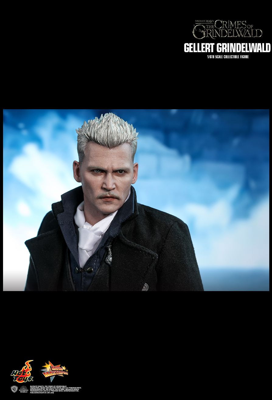 NEW PRODUCT: HOT TOYS: FANTASTIC BEASTS: THE CRIMES OF GRINDELWALD GELLERT GRINDELWALD 1/6TH SCALE COLLECTIBLE FIGURE 2037