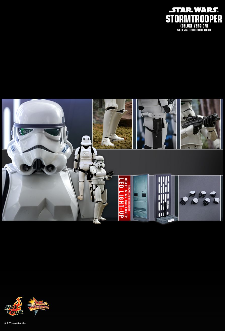 stormtrooper - NEW PRODUCT: HOT TOYS: STAR WARS STORMTROOPER (DELUXE VERSION) 1/6TH SCALE COLLECTIBLE FIGURE 2038