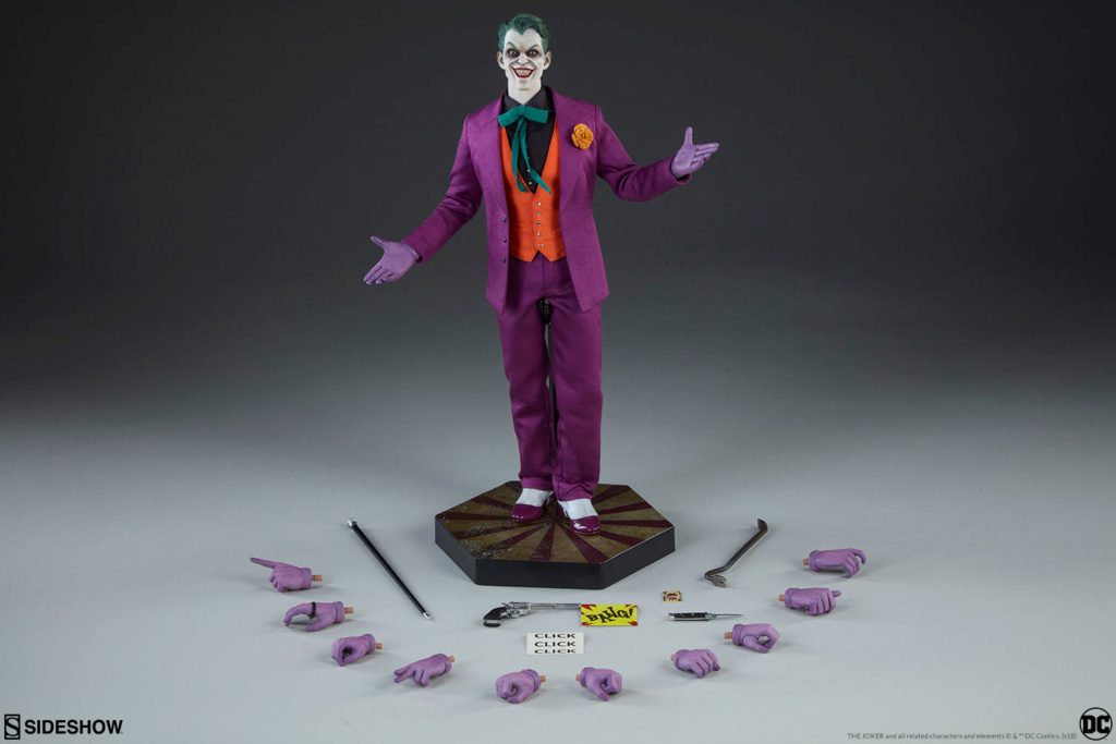 batman - NEW PRODUCT: SIDESHOW COLLECTIBLES: The Joker Sixth Scale Figure (Exclusive Laughing Head Sculpt) 2039