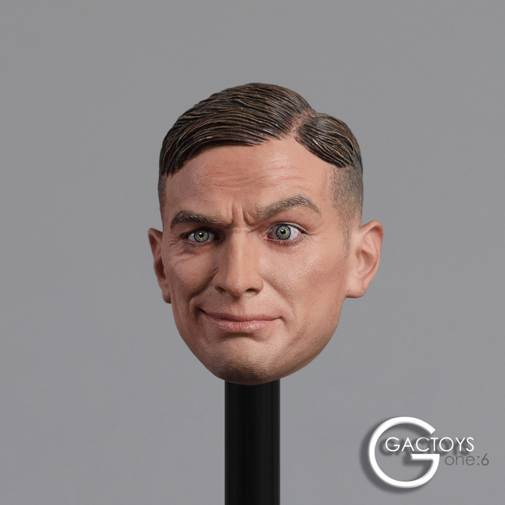 NEW PRODUCT: GACTOYS: 1/6 European and American expression male head carving [GC032] 20394510