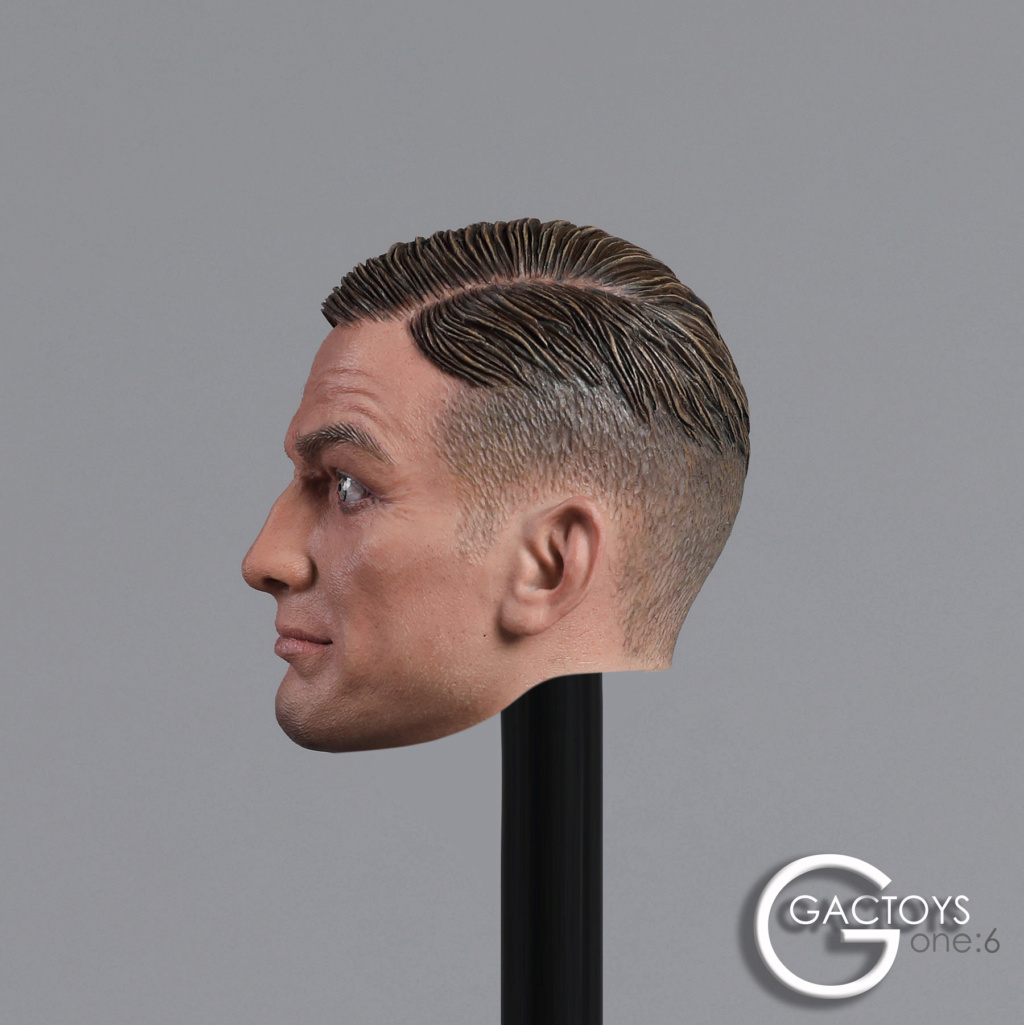 NEW PRODUCT: GACTOYS: 1/6 European and American expression male head carving [GC032] 20394610