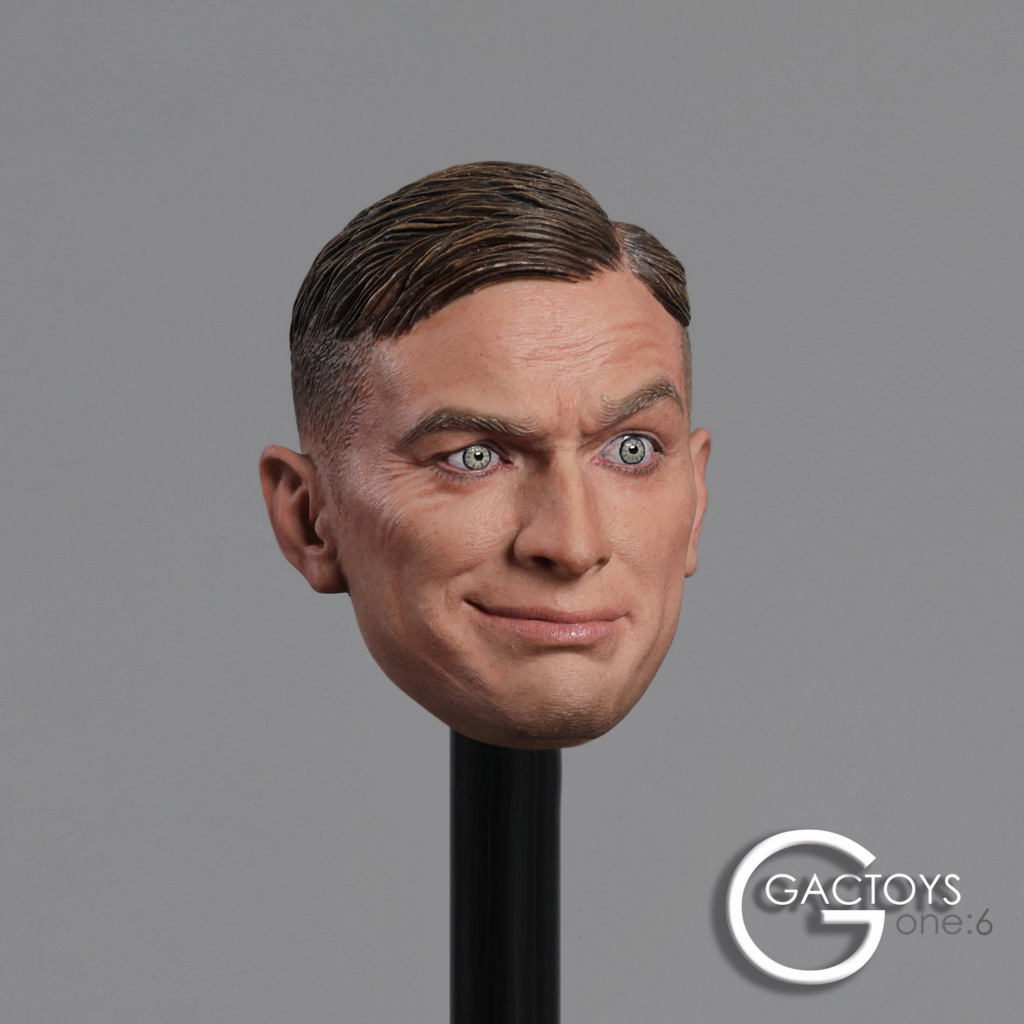 NEW PRODUCT: GACTOYS: 1/6 European and American expression male head carving [GC032] 20394710