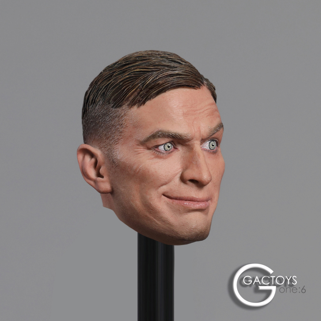 NEW PRODUCT: GACTOYS: 1/6 European and American expression male head carving [GC032] 20394810