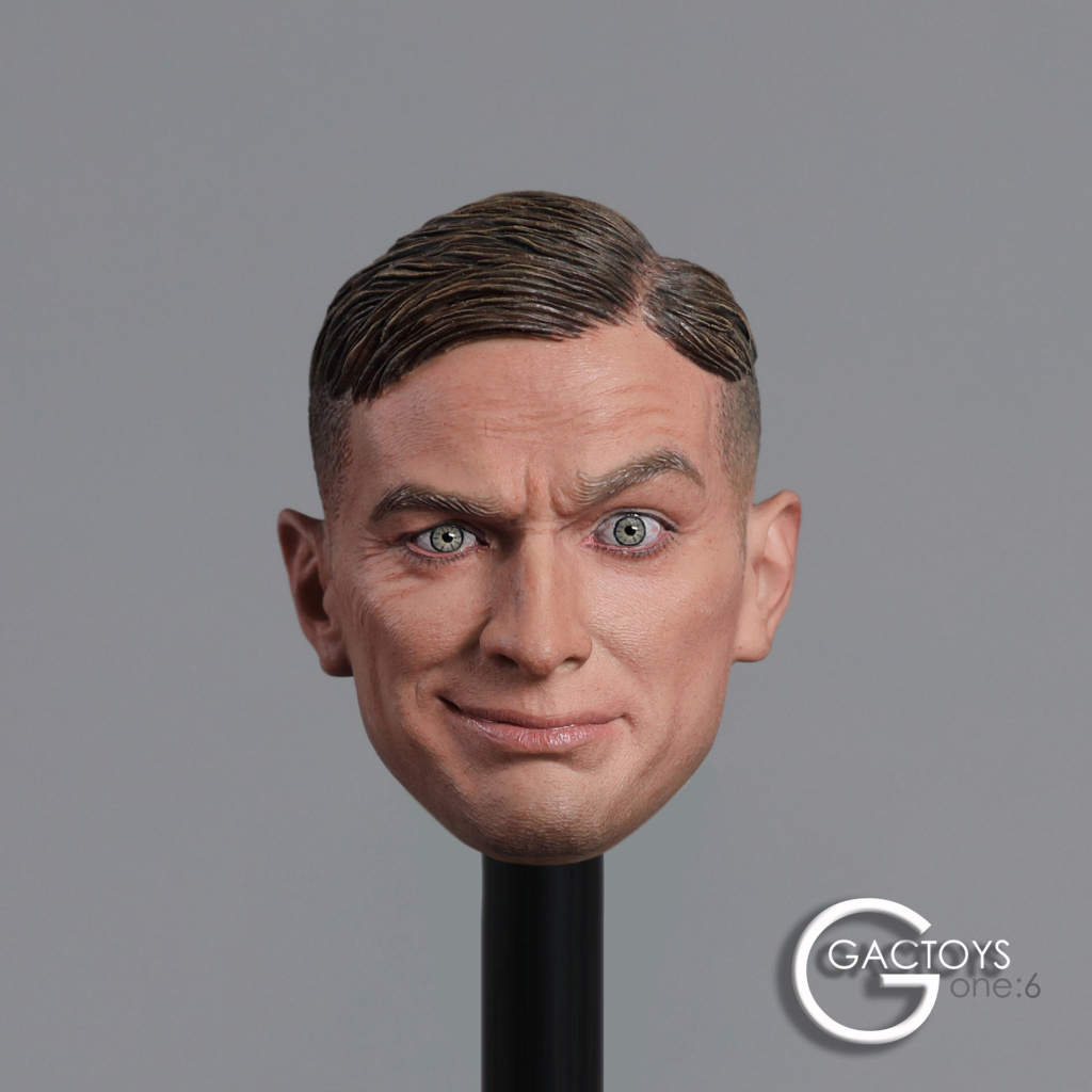 NEW PRODUCT: GACTOYS: 1/6 European and American expression male head carving [GC032] 20395011