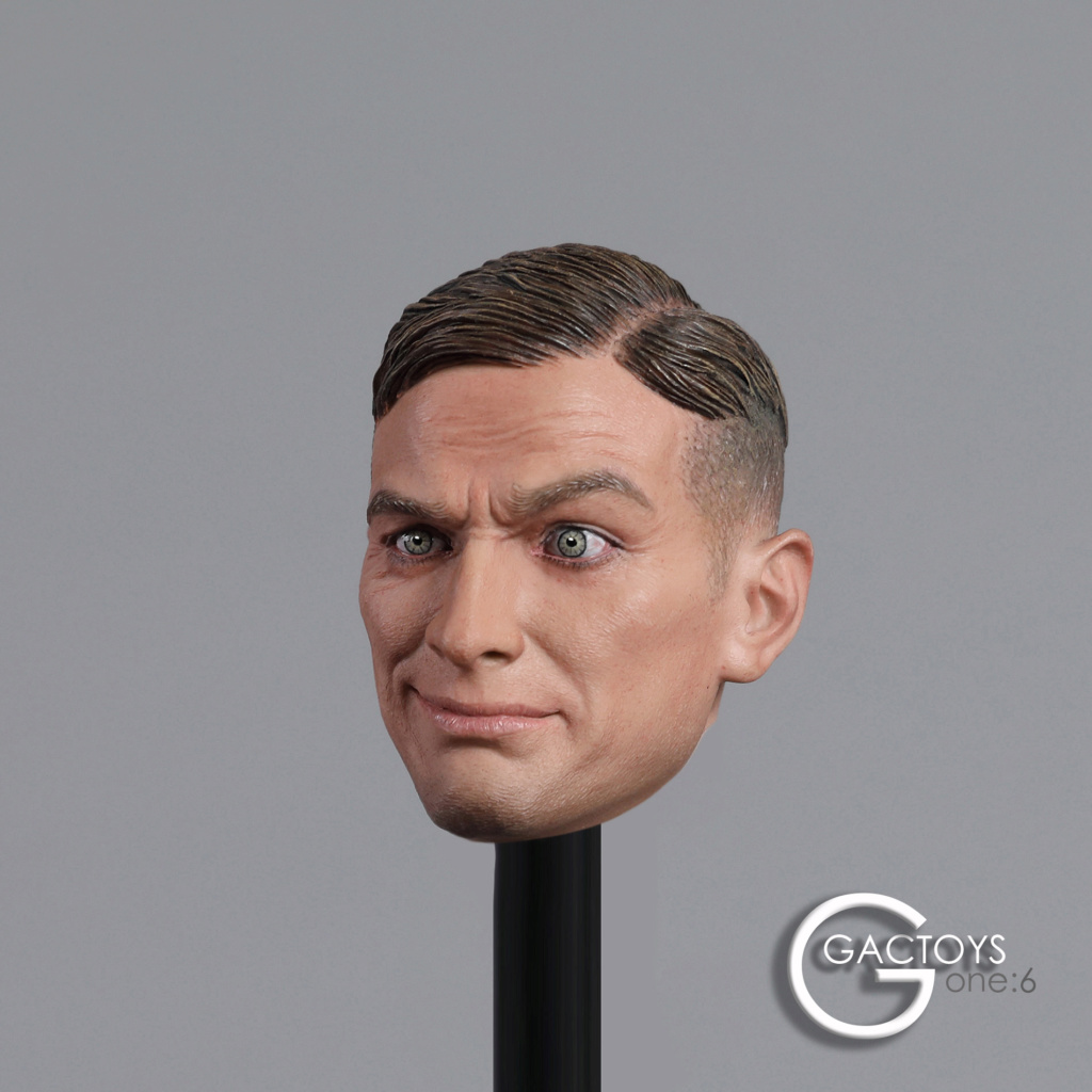 NEW PRODUCT: GACTOYS: 1/6 European and American expression male head carving [GC032] 20395110