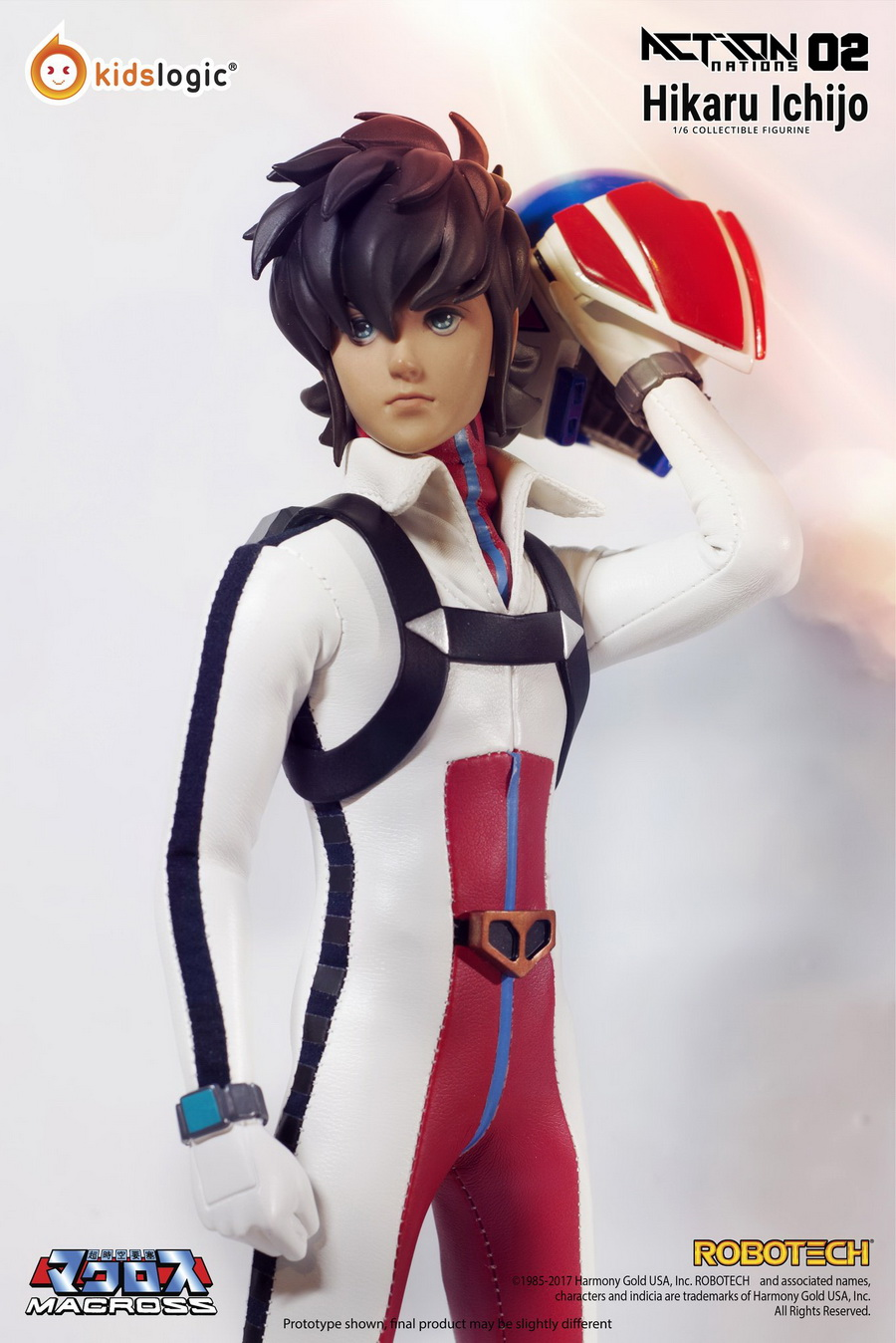 Robotech - NEW PRODUCT: Kids Logic: 1/6 Space Fortress (Overtime Fortress)-Hikaru Ichijo/一辉动动偶人AN02# 20401510