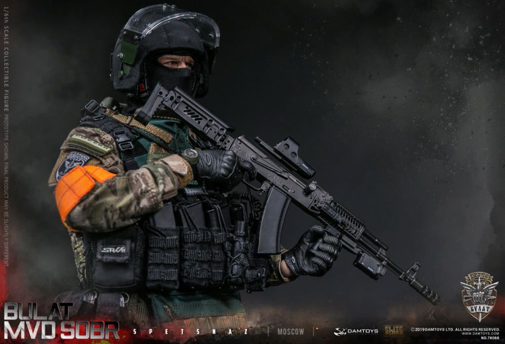 "SpecialForces - NEW PRODUCT: DAMTOYS: 1/6 Russian Federation Ministry of Internal Affairs MVD SOBR- ""Sword"" Special Forces Moscow (78066#) 20402210"