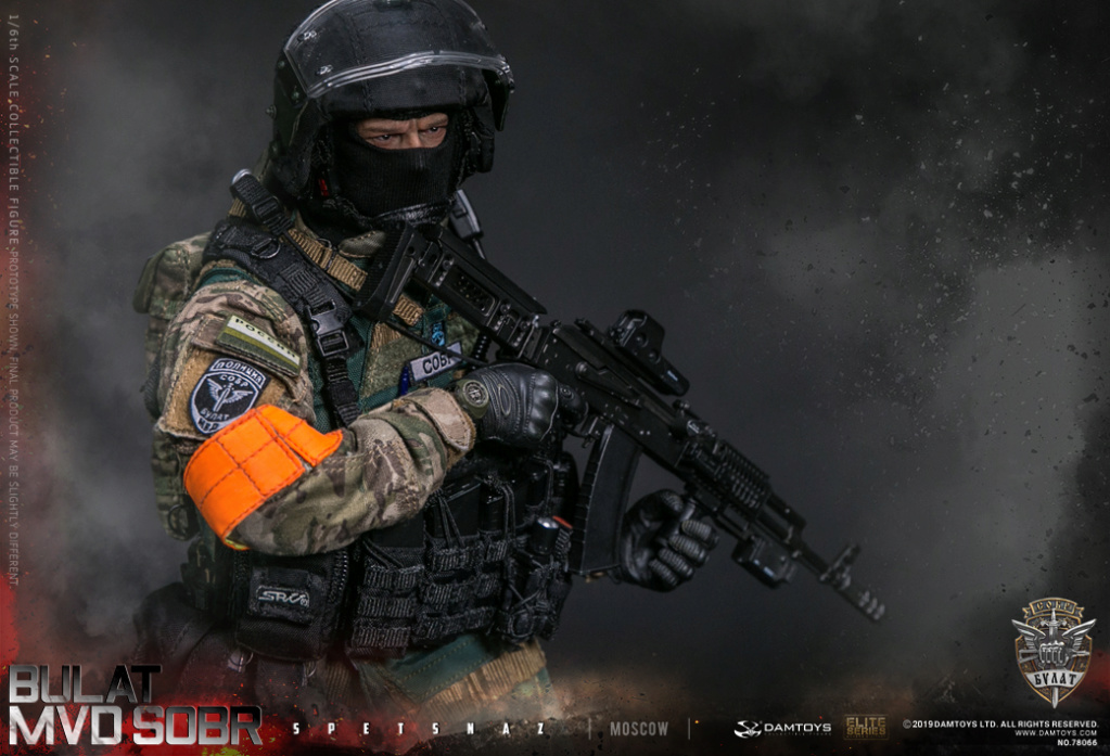 "SpecialForces - NEW PRODUCT: DAMTOYS: 1/6 Russian Federation Ministry of Internal Affairs MVD SOBR- ""Sword"" Special Forces Moscow (78066#) 20402310"