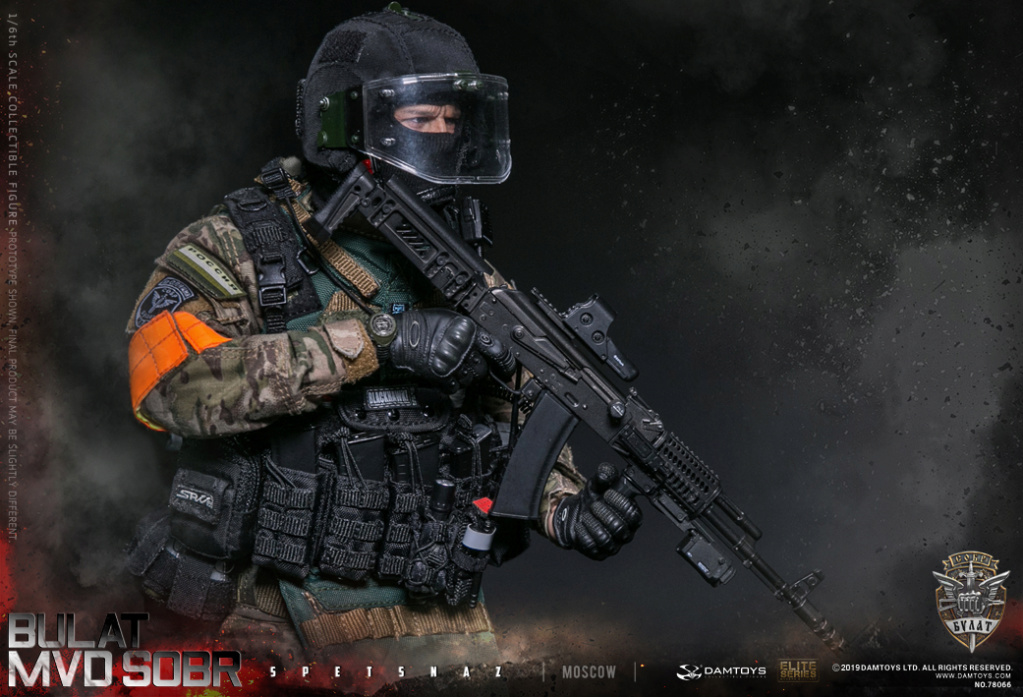 "SpecialForces - NEW PRODUCT: DAMTOYS: 1/6 Russian Federation Ministry of Internal Affairs MVD SOBR- ""Sword"" Special Forces Moscow (78066#) 20402410"