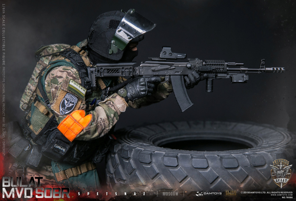 "SpecialForces - NEW PRODUCT: DAMTOYS: 1/6 Russian Federation Ministry of Internal Affairs MVD SOBR- ""Sword"" Special Forces Moscow (78066#) 20403110"