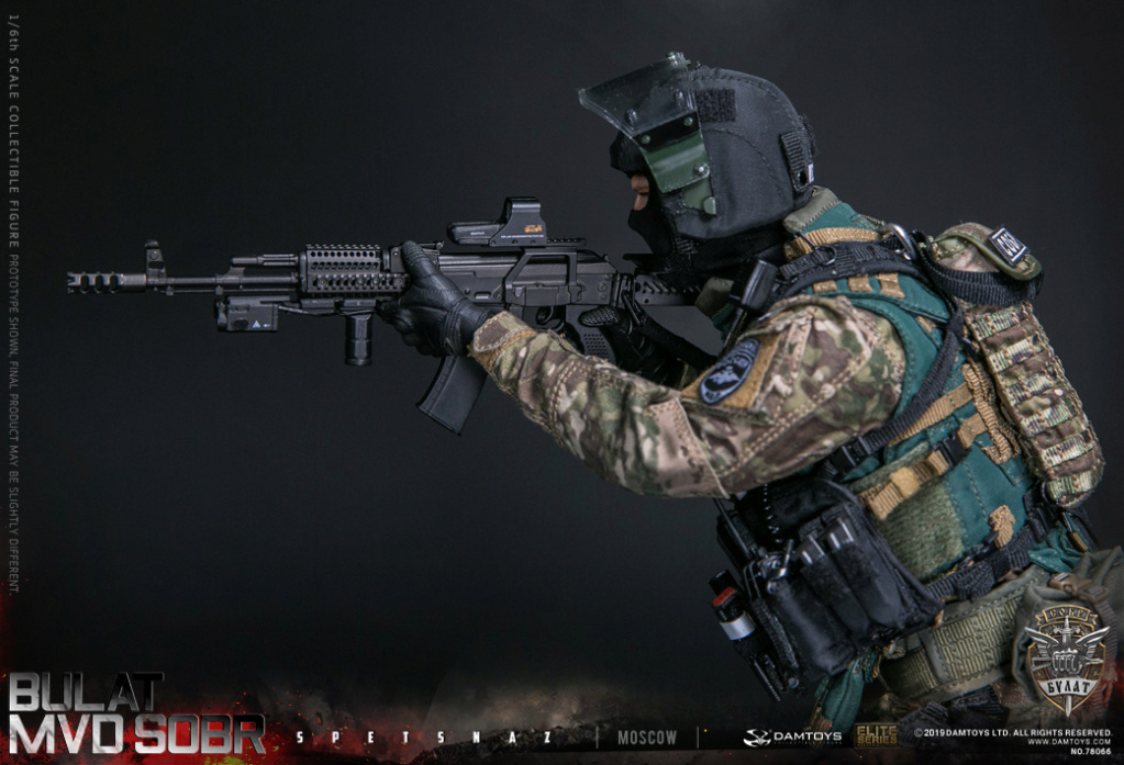 "SpecialForces - NEW PRODUCT: DAMTOYS: 1/6 Russian Federation Ministry of Internal Affairs MVD SOBR- ""Sword"" Special Forces Moscow (78066#) 20403210"