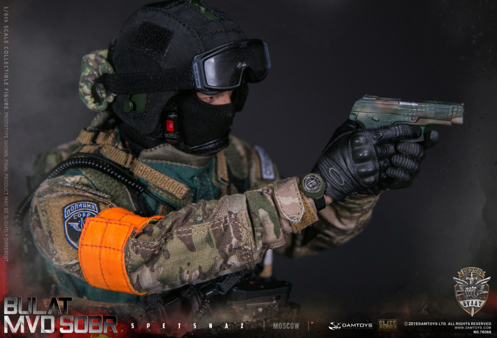 "SpecialForces - NEW PRODUCT: DAMTOYS: 1/6 Russian Federation Ministry of Internal Affairs MVD SOBR- ""Sword"" Special Forces Moscow (78066#) 20404510"
