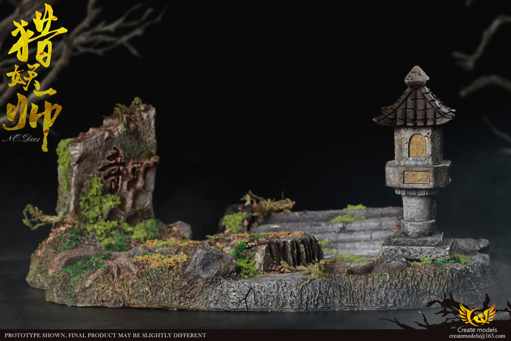 NEW PRODUCT: Create models New: 1/6 - Hunting Monster Doll Scene Set (#H001) & Platform (#D001) 20405510