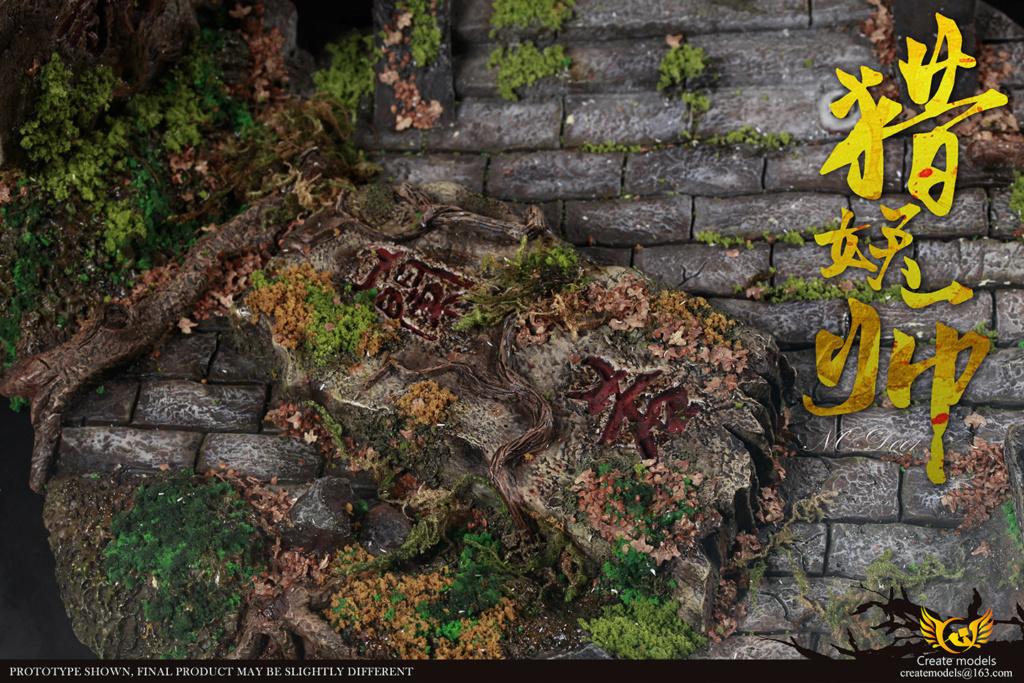 NEW PRODUCT: Create models New: 1/6 - Hunting Monster Doll Scene Set (#H001) & Platform (#D001) 20410210