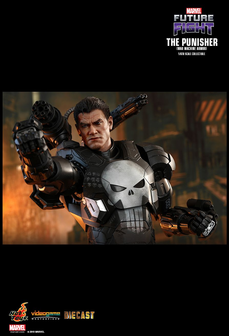 Videogame - NEW PRODUCT: HOT TOYS: MARVEL FUTURE FIGHT THE PUNISHER (WAR MACHINE ARMOR) 1/6TH SCALE COLLECTIBLE FIGURE 2045