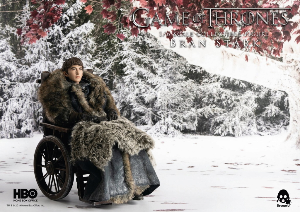 "fantasy - NEW PRODUCT: ThreeZero: 1/6 ""Game of Thrones"" - Bran Stark / Bran Stark can be moved 20491110"