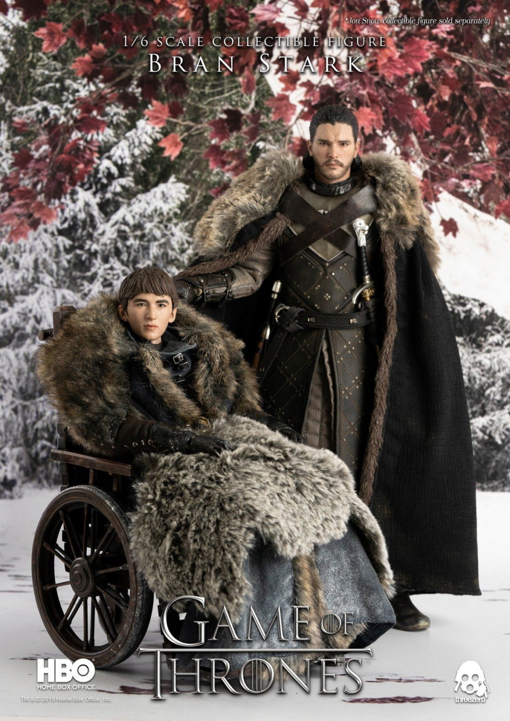 "fantasy - NEW PRODUCT: ThreeZero: 1/6 ""Game of Thrones"" - Bran Stark / Bran Stark can be moved 20491410"