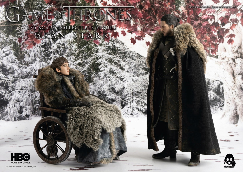 "fantasy - NEW PRODUCT: ThreeZero: 1/6 ""Game of Thrones"" - Bran Stark / Bran Stark can be moved 20491610"