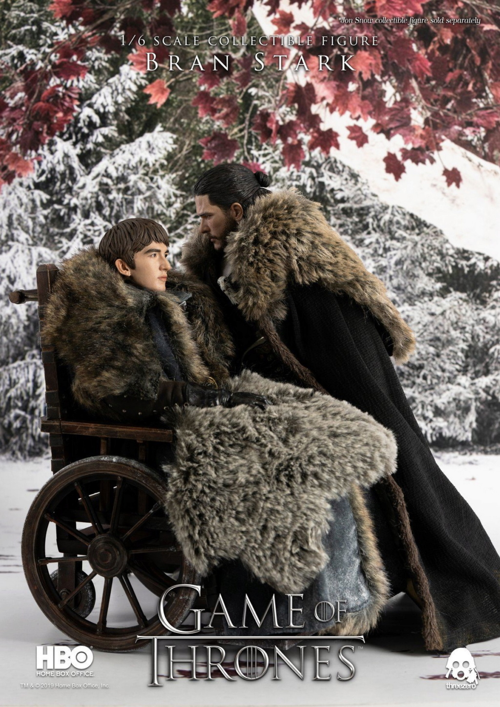 "fantasy - NEW PRODUCT: ThreeZero: 1/6 ""Game of Thrones"" - Bran Stark / Bran Stark can be moved 20491810"