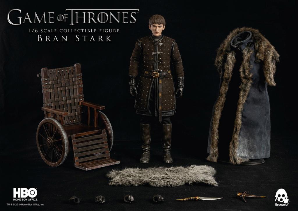 "fantasy - NEW PRODUCT: ThreeZero: 1/6 ""Game of Thrones"" - Bran Stark / Bran Stark can be moved 20492110"