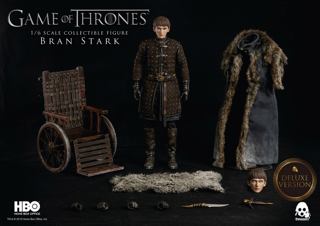 "fantasy - NEW PRODUCT: ThreeZero: 1/6 ""Game of Thrones"" - Bran Stark / Bran Stark can be moved 20492310"