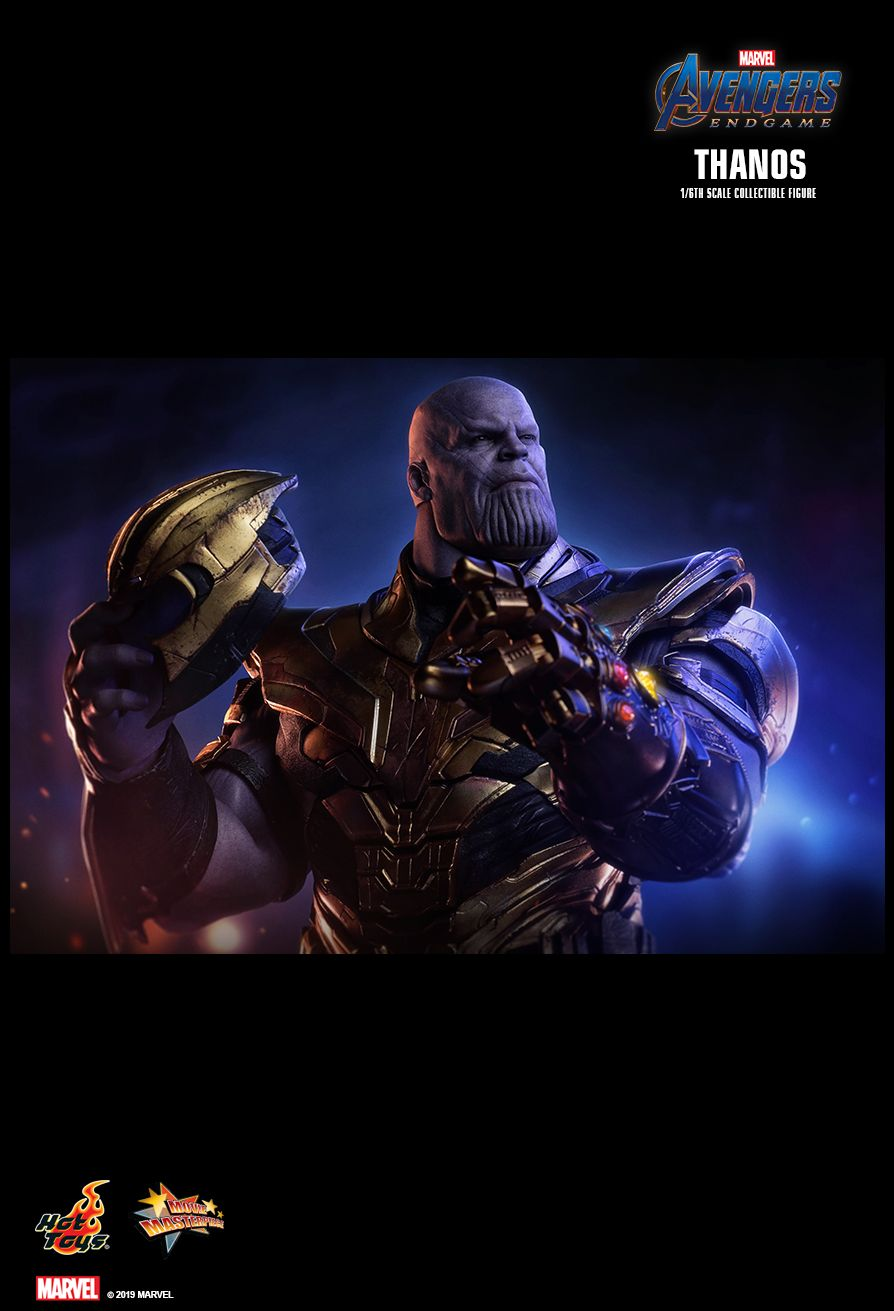Thanos - NEW PRODUCT: HOT TOYS: AVENGERS: ENDGAME THANOS 1/6TH SCALE COLLECTIBLE FIGURE 2059