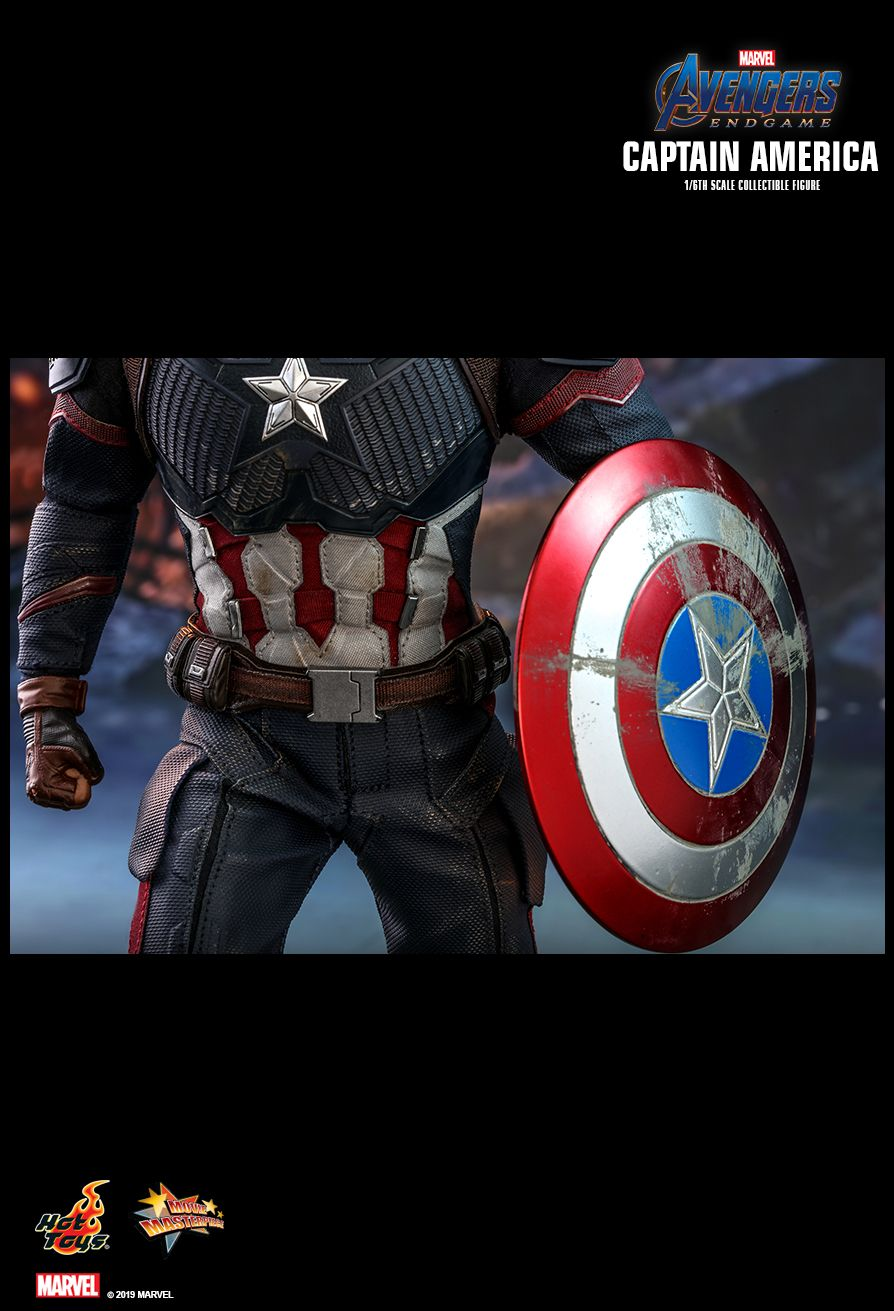 captainamerica - NEW PRODUCT: HOT TOYS: AVENGERS: ENDGAME CAPTAIN AMERICA 1/6TH SCALE COLLECTIBLE FIGURE 2064