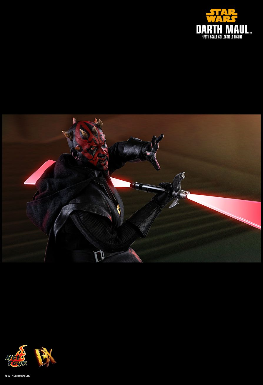 solo - NEW PRODUCT: HOT TOYS: SOLO: A STAR WARS STORY DARTH MAUL 1/6TH SCALE COLLECTIBLE FIGURE 2074