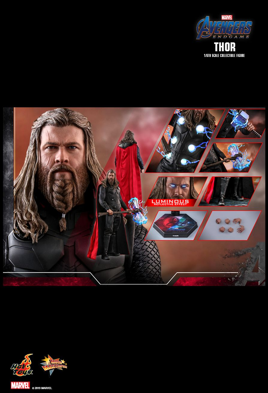 marvel - NEW PRODUCT: HOT TOYS: AVENGERS: ENDGAME THOR 1/6TH SCALE COLLECTIBLE FIGURE 2086
