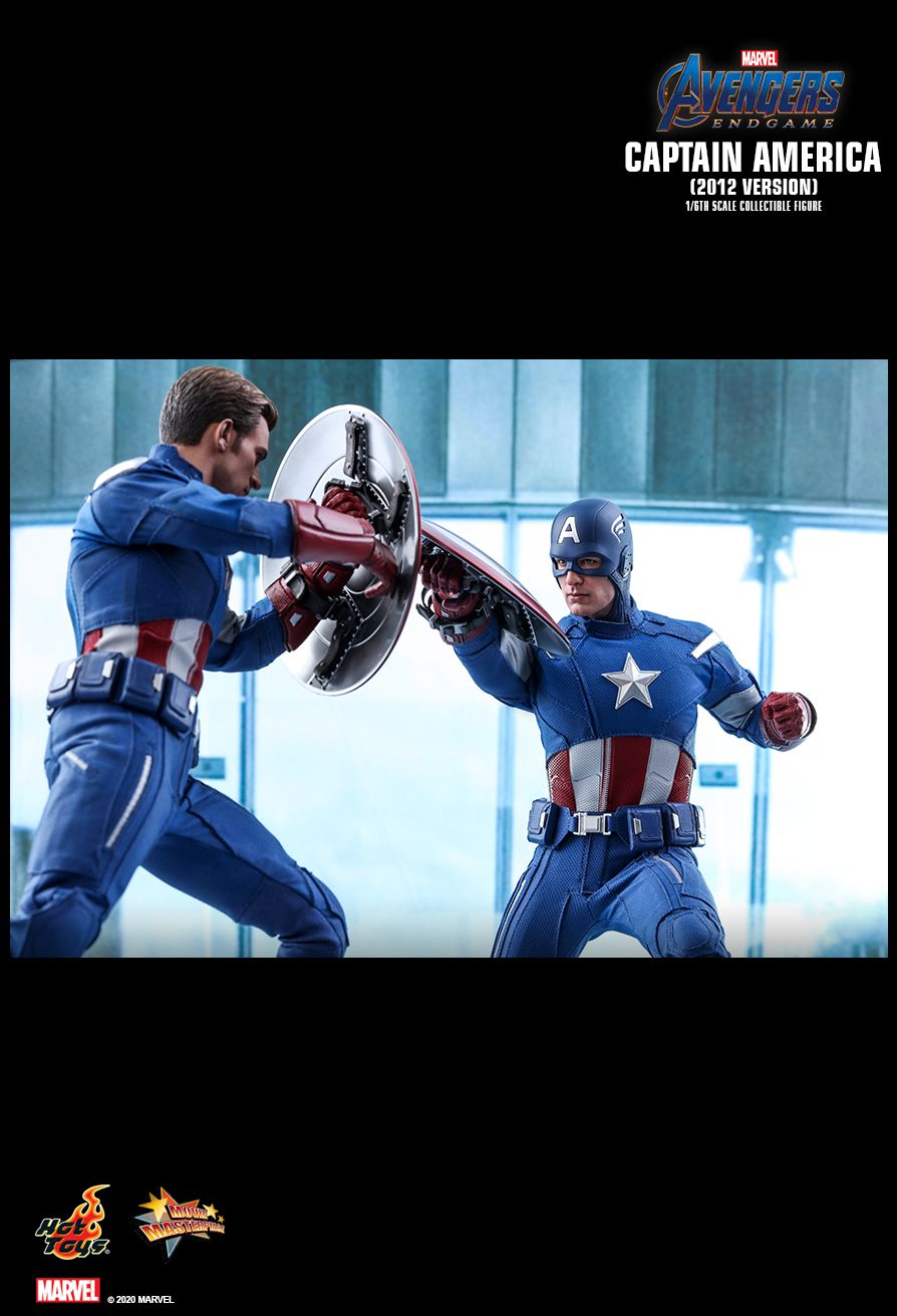 movie - NEW PRODUCT: HOT TOYS: AVENGERS: ENDGAME CAPTAIN AMERICA (2012 VERSION) 1/6TH SCALE COLLECTIBLE FIGURE 2097