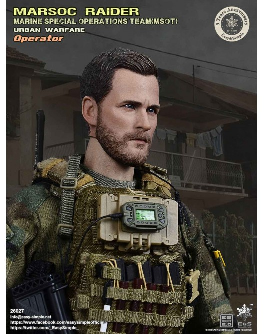 NEW PRODUCT: Easy & Simple 26027 1/6 Scale MARSOC Raider Urban Warfare Operator 21-52810