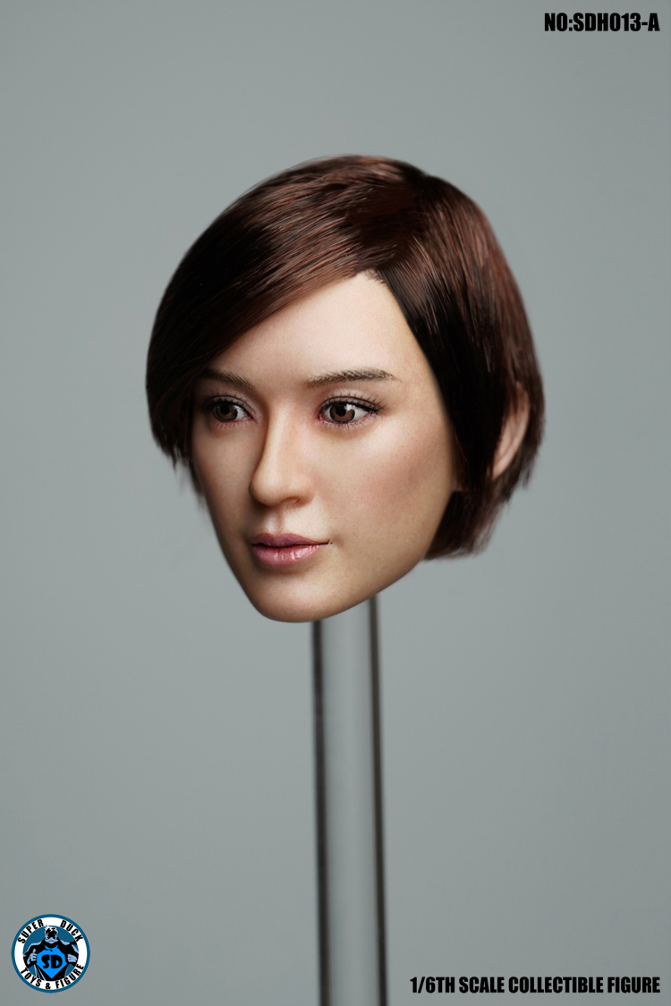 superduck - NEW PRODUCT: SUPER DUCK New product: 1/6 SDH013 female head carving - ABC three models 2104