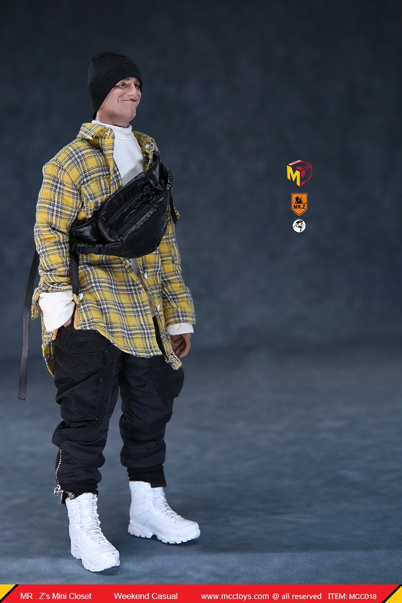 MCCTOys - NEW PRODUCT: MCCToys x Mr.Z: 1/6 Z's Mini Closet Series - Weekend Casual Set (MCC01#) 21071910
