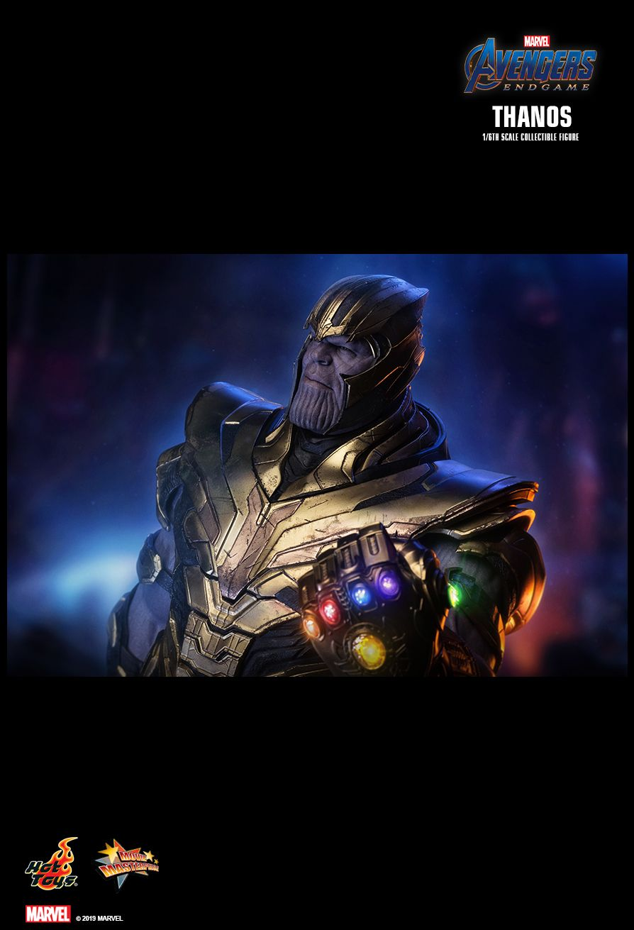 Thanos - NEW PRODUCT: HOT TOYS: AVENGERS: ENDGAME THANOS 1/6TH SCALE COLLECTIBLE FIGURE 21107