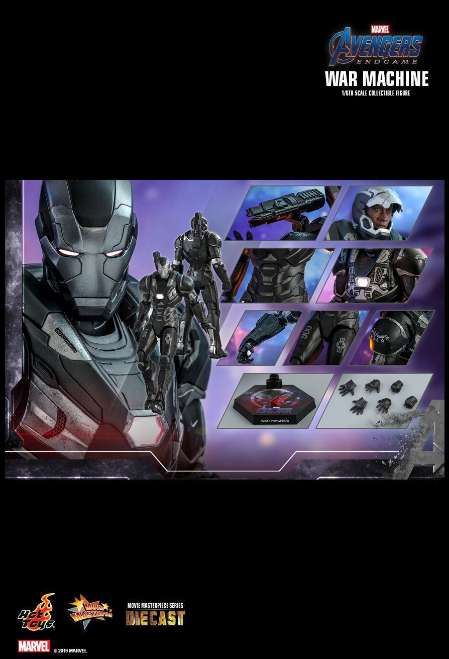 WarMachine - NEW PRODUCT: HOT TOYS: AVENGERS: ENDGAME WAR MACHINE 1/6TH SCALE COLLECTIBLE FIGURE 21108