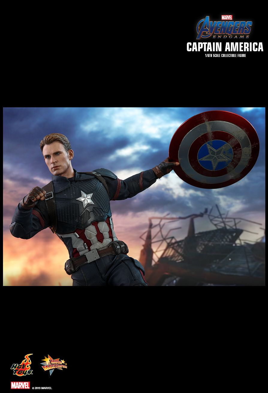 captainamerica - NEW PRODUCT: HOT TOYS: AVENGERS: ENDGAME CAPTAIN AMERICA 1/6TH SCALE COLLECTIBLE FIGURE 21110