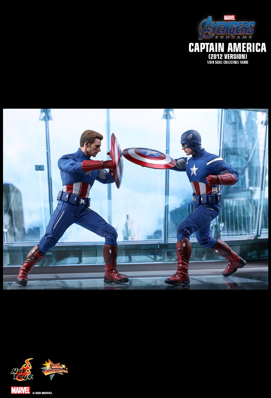 movie - NEW PRODUCT: HOT TOYS: AVENGERS: ENDGAME CAPTAIN AMERICA (2012 VERSION) 1/6TH SCALE COLLECTIBLE FIGURE 21135
