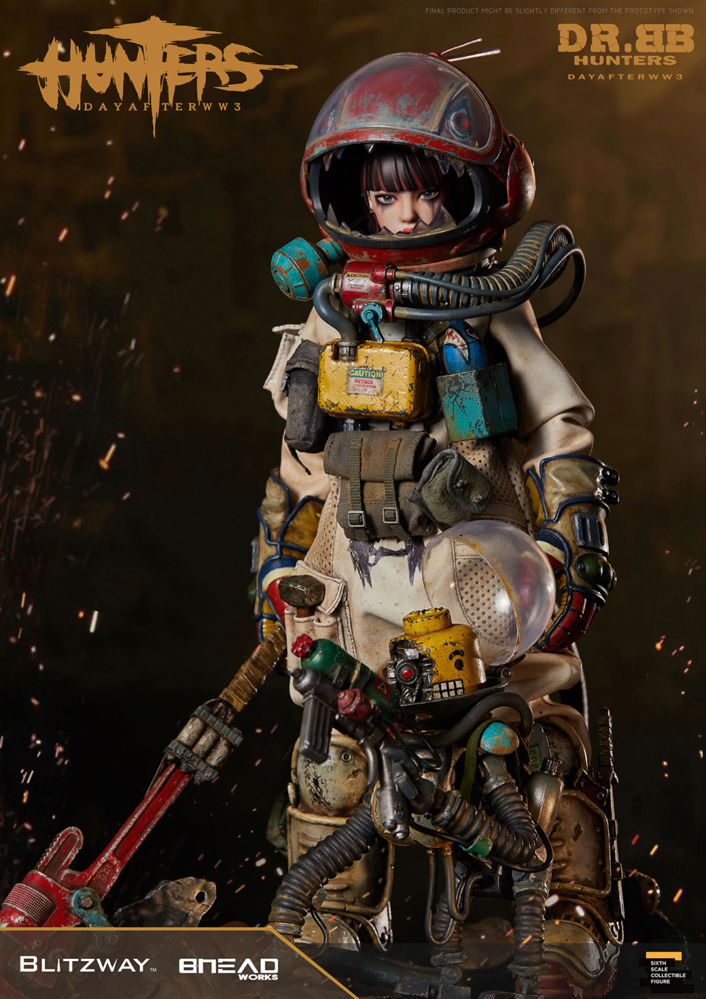 Robot - NEW PRODUCT: Blitzway: 1/6 scale HUNTERS : Day After WWlll: Dr.BB Action Figure 21144