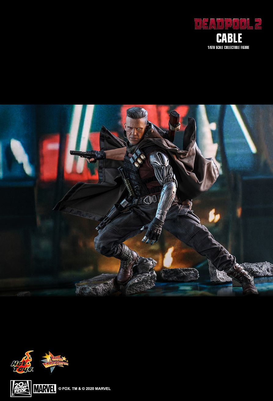 NEW PRODUCT: HOT TOYS: DEADPOOL 2 CABLE 1/6TH SCALE COLLECTIBLE FIGURE 21156