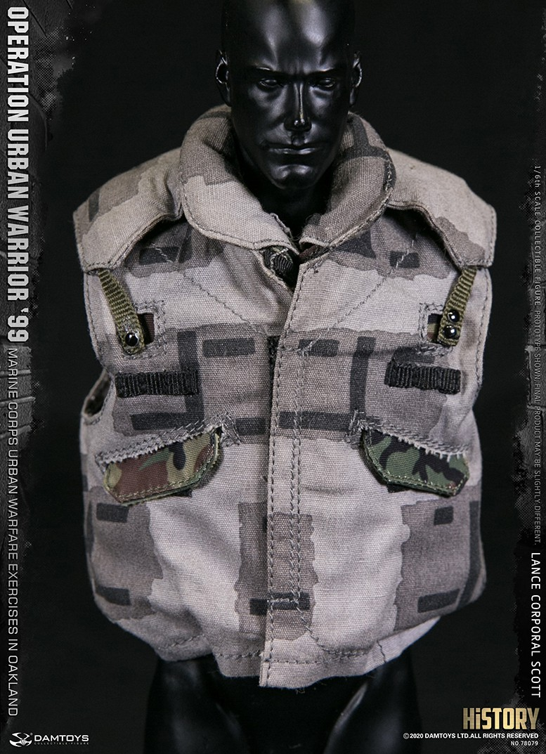 MarineCorps - NEW PRODUCT: DAMToys: 1/6 '99 City Warrior Operation-Marine Corps Oakland City Battle Exercise - Lance Corporal Scott #78079 21161
