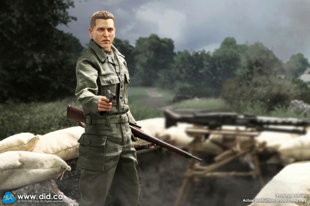 DiD - NEW PRODUCT: DiD: A80144 WWII US 2nd Ranger Battalion Series 4 Private Jackson 21170