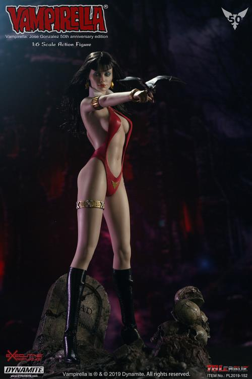 horror - NEW PRODUCT: TBLeague: 1/6 bloodsucking red face - Vampirella 50th Anniversary Edition (#PL2019-152) 21180710